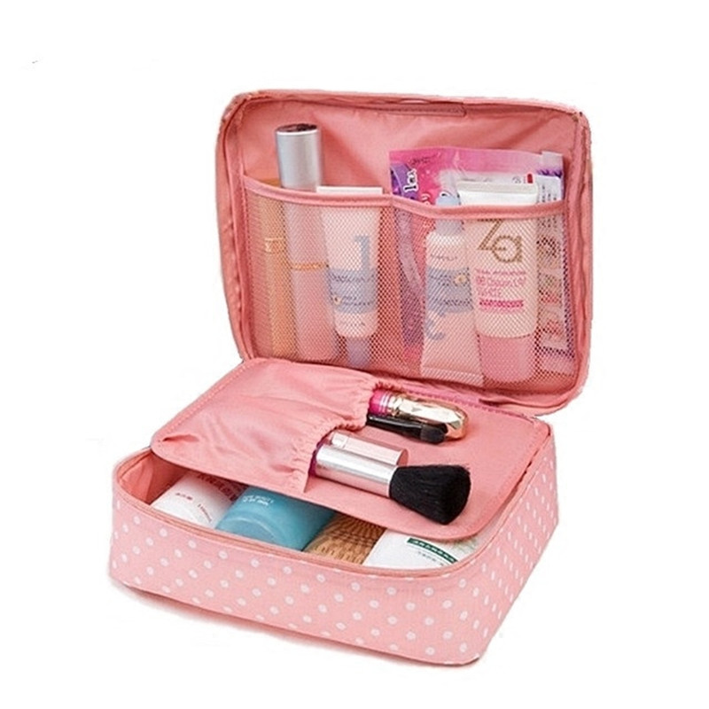 Travel Beauty Organizer Cosmetic Bag Case Large Portable weekend Makeup Pouch Bra Underwear Toiletry Storage Luggage Accessories