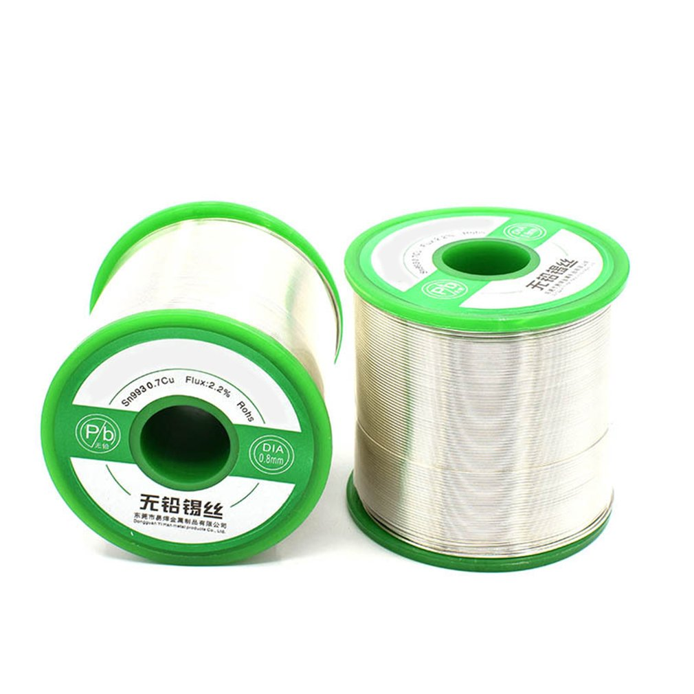 0.6 1.2MM Lead free Solder Wire Tin Lead Tin Wire Melt Rosin Core Solder Soldering Wire Roll for Electrical Solder RoHs