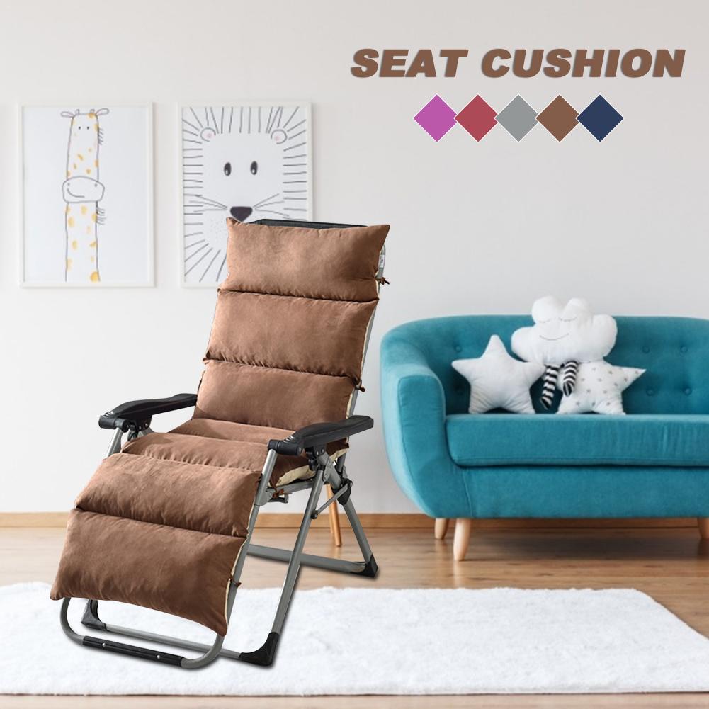 Détachable tissé chaise plage pliante loisirs chaise coussin intégré piscine chaise à bascule en peluche universel Pad