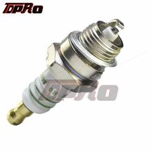 TDPRO Trimmer Lawn Mower Ignition Spark Plug For 47cc 49cc 66cc 80cc 2-Stroke Engines Mini Moto Pocket Quad ATV Dirt Pit Bike