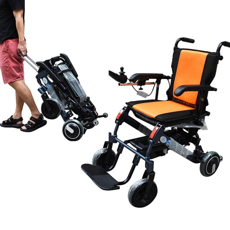 cadeira de rodas eletrica idosa portatil motorizada dobravel de energia manual para deficientes
