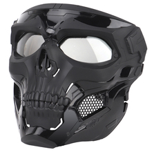 Skull Tactical Mask Paintball Full Face Protective Fit Fast Helmet for Military Airsoft CS Masks Face Cover