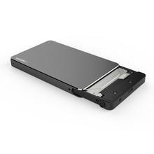 """Herramienta gratuita Sata3 USB3.0 Gen1 Tipo-c 2.5 """"externo SSD/HDD hard disk drive enclosure/caja con 6 Gbps UASP para el Ordenador Portátil MAC de escritorio"""