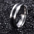 Vintage White Gold Plated 316L stainless steel Ring Mens Jewelry for Women lord Wedding Band male ring for lovers G15