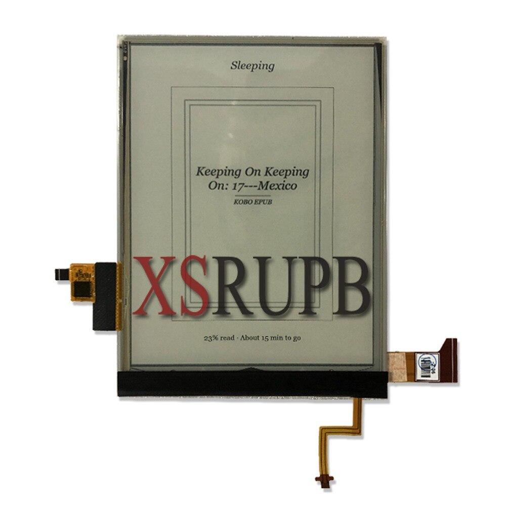Novo 6.0 polegada E-Ink ED060XC9 contato com Backlight Display LCD de Vidro Da Tela Para ÔNIX BOOX Leitor de Ebook eReader
