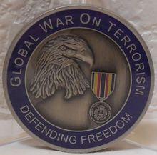 Hot sale Global War on Terrorism Service Medal High quality global war on terrorism expeditionary medal Challenge Coin hl600042 nunan timothy writings on war
