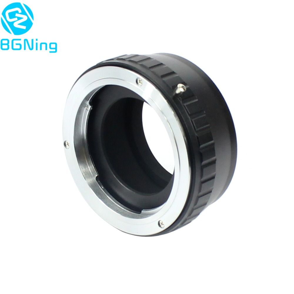 BGNING Camera Lens Adapter Ring pour Rollei QBM Monture à FX pour Fujifilm FUJI X-Pro1 X-E2 X-T1 Lentille Adaptateur QBM-FX