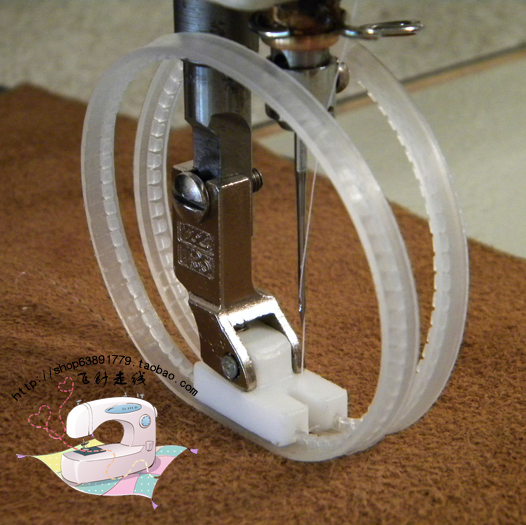 roller foot for sewing machine