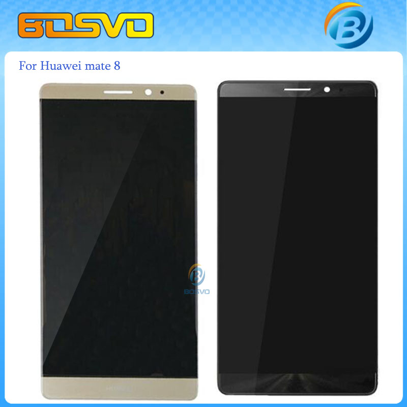 Free EMS DHL shipping Replacement display for Huawei mate 8 LCD screen with touch digitizer glass NXT-AL10 assembly 5 pcs +tools dhl ems 5 new for pro face touchscreen glass agp3300 l1 d24 f4
