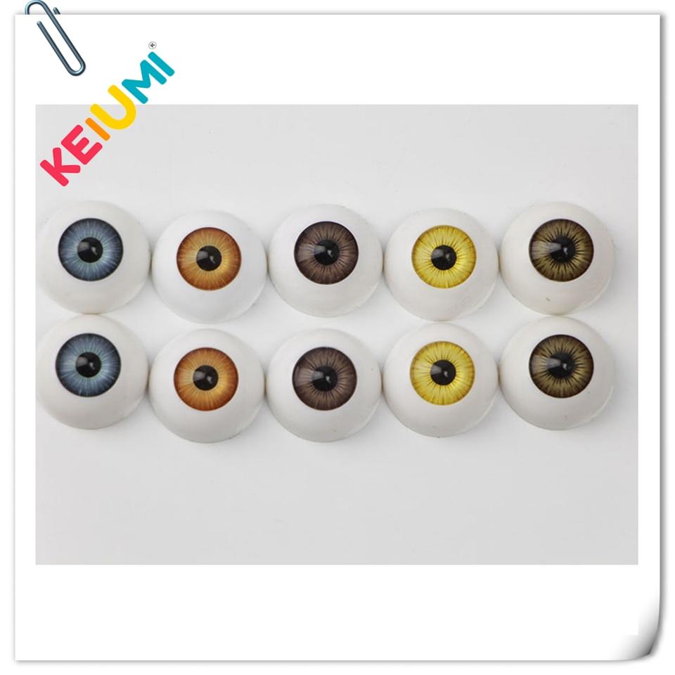 Dollmore New 26mm Optical Half Round Acrylic Eyes SEL-14