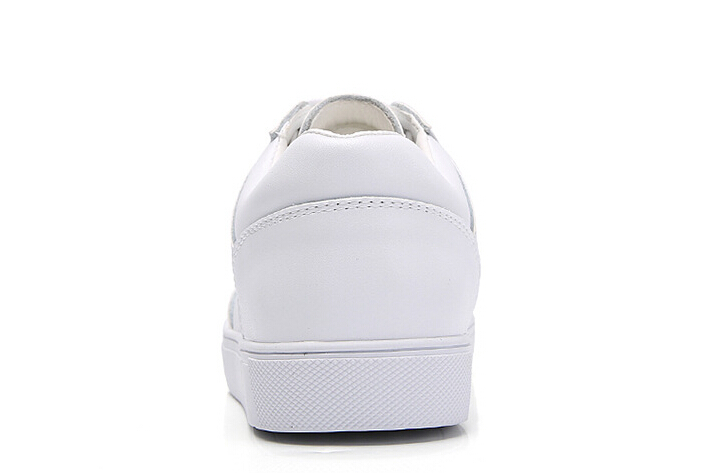 women shoes Genuine leather Lace-Up flats white shoe Soft bottom loafers Casual Shoes size 35-40 24