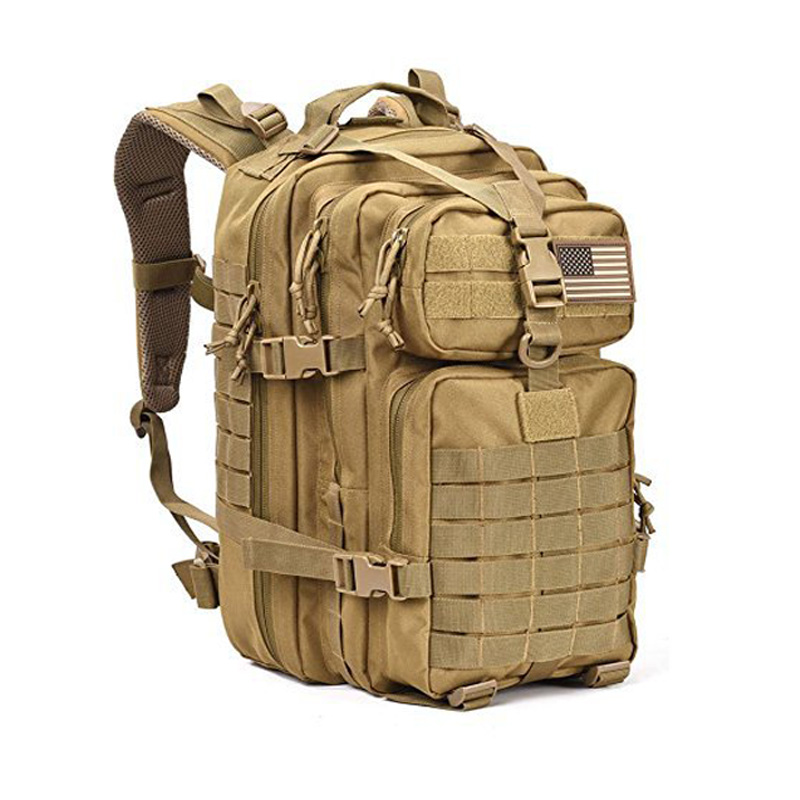 40L Military Tactical Assault Pack Backpack Army Molle Waterproof Bug Out Bag Small Rucksack for Outdoor Hiking Camping Hunting lqarmy 3 day expandable backpack with waist pack large rucksack tactical backpack molle assault bag for day hiking tan