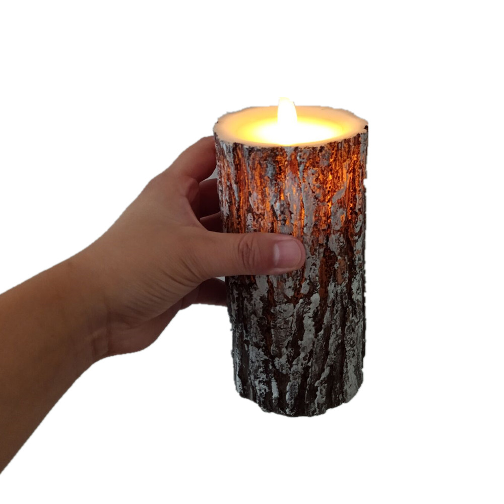 3pcs LED Candle Light Battery Candles Lamp Flame Remote Control Candle Wax Birthday Electric Pillar Christmas Candles 30 - 4