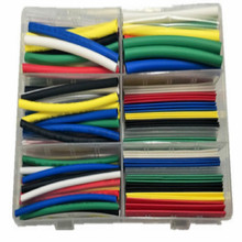 3MM 4MM 5MM 6MM 8MM 10MM heat shrink tube cable sleeve tubing heatshrink wire diamter 154PCS/SET