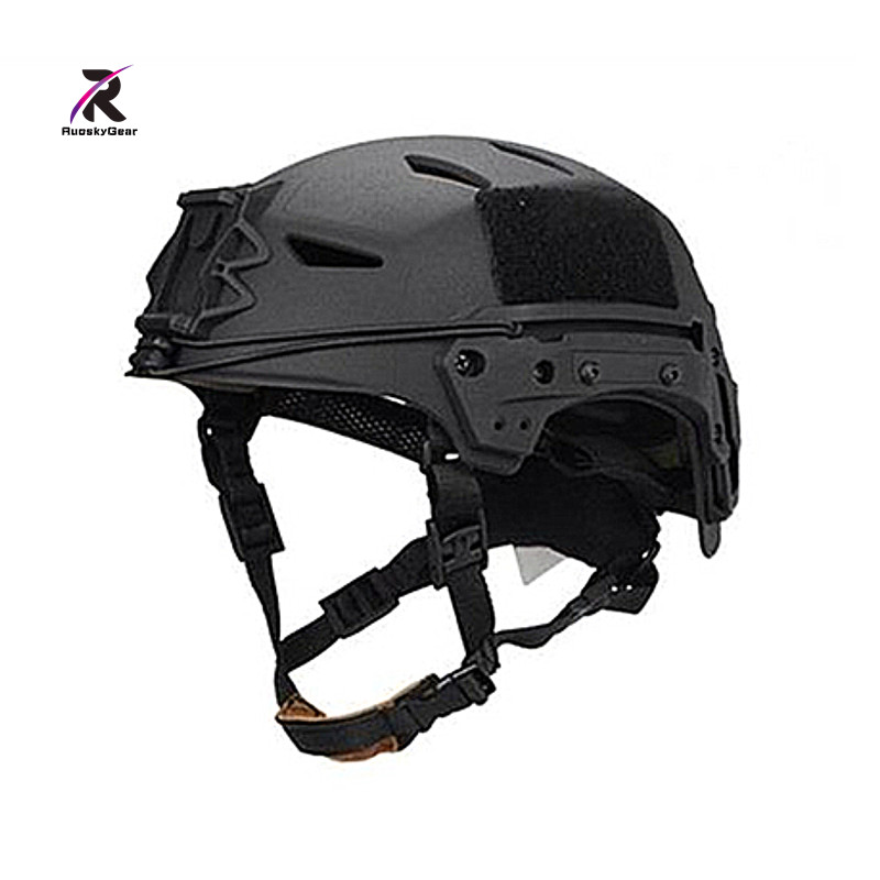 2018 New Bump EXFLL Lite Tactical Helmet airsoft Desert Black Ventilate for Airsoft Wargame Skirmish & Hunting Free Shipping