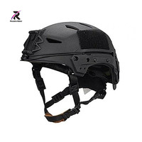 2019 New Bump EXFLL Lite Tactical Helmet airsoft Desert Black Ventilate for Airsoft Wargame Skirmish & Hunting Free Shipping