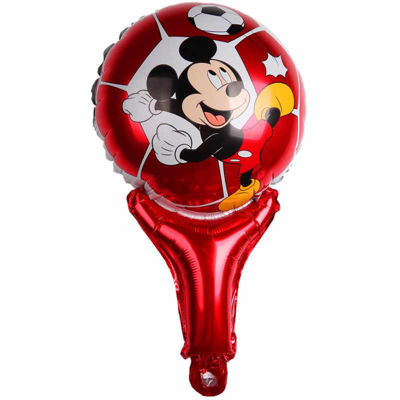 XXYYZZ palmare Captain America Shield aerostati della stagnola Mickey Minne Hulk compleanno palloncino decorazione del partito bambino Giocattolo