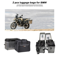 KEMiMOTO Motorcycle Bag Saddle Inner Bags PVC luggage bags For BMW R1200GS Adv WATER COOLED r1200 gs F800GS Adventure 2013 2017