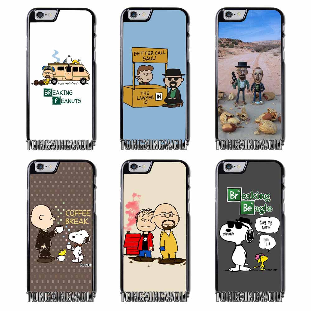 Breaking Dead Peanuts  Cover Case For Samsung S4 S5 S6 S7 S8 Eege Plus Note 2 3 4 5 8 Huawei honor P8 P9 P10 Lite