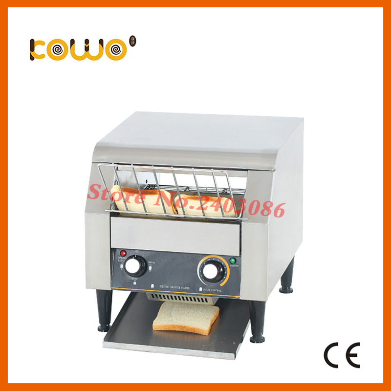 ce 220V electric bread toaster maker stainless steel bakery conveyor sandwich machine sandwich toaster grill kitchen appliances electric conveyor toaster ct 150 conveyor toaster oven 150 180 slices of bread 1hr