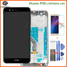 5.2 Inch AAA Quality LCD With Frame For HUAWEI P10 Lite Lcd Display Screen WAS-LX1 WAS-LX1A WAS-LX2 WAS-LX3