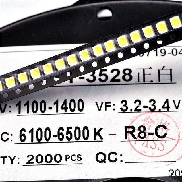 YongYeTai 1210 SMD LED High Bright White free shipping