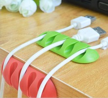 3Pcs Earphone Cable Winder Desk Organizer Charger Plug Holder Management Wire Storage Device For PC Mouse USB MP3 MP4 H100