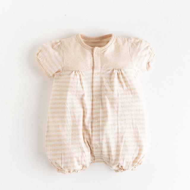 Organic Cotton Baby Girl Romper