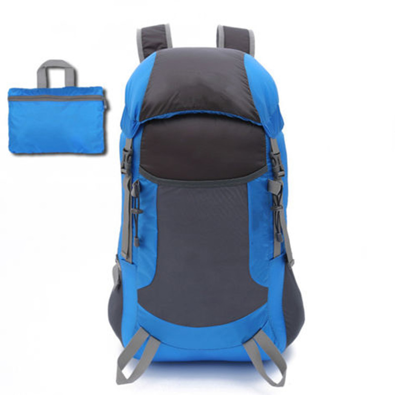 Camping Outdoor Waterproof Travel Mountaineering Hiking Foldable Bag Backpack