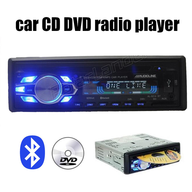 bluetooth cd dvd de voiture radio lecteur usb sd aux in 1 din voiture audio st r o 1 din voiture. Black Bedroom Furniture Sets. Home Design Ideas