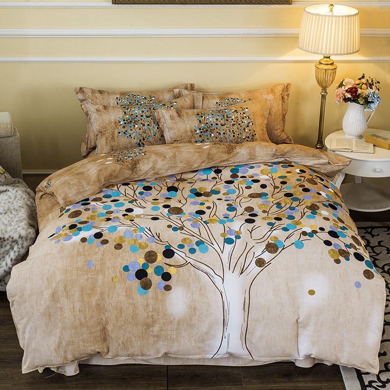 Bohemia boho bedding cotton set flower duvet cover set