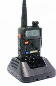 Image 4 - Baofeng UV 5R Walkie Talkie CB Radio Transceiver 5 watt VHF UHF Dual Band FM Handheld Amauter Schinken Zwei Funkgeräte UV5R Für Jagd