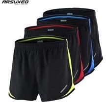 ARSUXEO Mens Summer Sports 3 Marathon Running Shorts Training Jogging Athletic Breathable Quick Dry Run