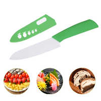 Cuchillos de cerámica cuchillos de cocina 3 4 5 6 pulgadas cuchillo de Chef hoja blanca mango colorido cuchillo de cerámica para cortar utensilios de cocina