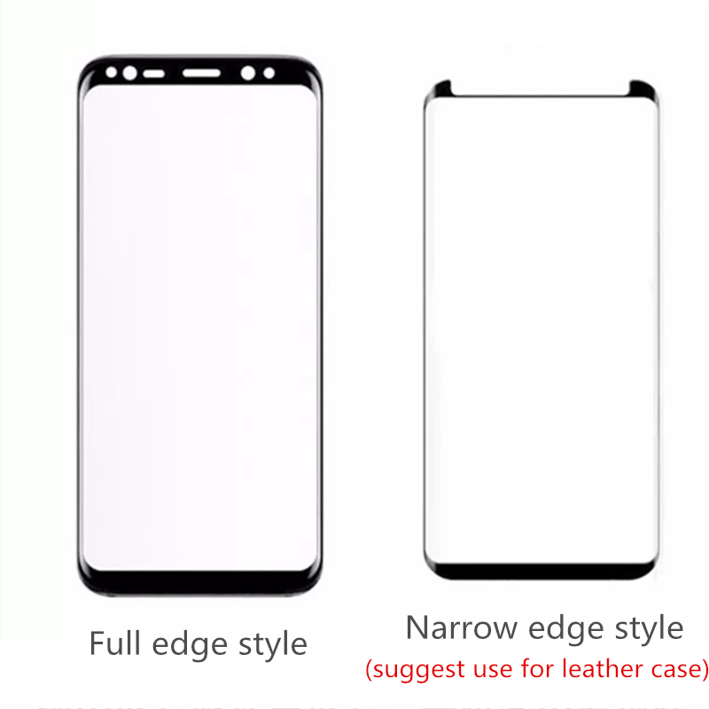 3pc S9plus <font><b>glasses</b></font> film full glue Full cover Tempered <font><b>Glass</b></font> Screen Protector For sumsung note 9 note8 <font><b>S8</b></font> S9 PLUS 3D curved edge image
