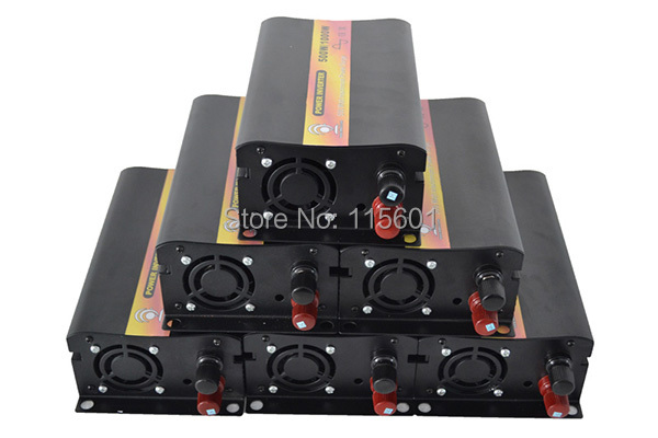 Free Shipping CE RoHS SGS Approved DC 12V 24V 48V AC 100V 110V 120V 220V 230V 240V Pure Sine Wave Inverter 500W for Car