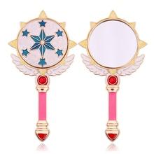Anime Cardcaptor Handheld Makeup Mirror