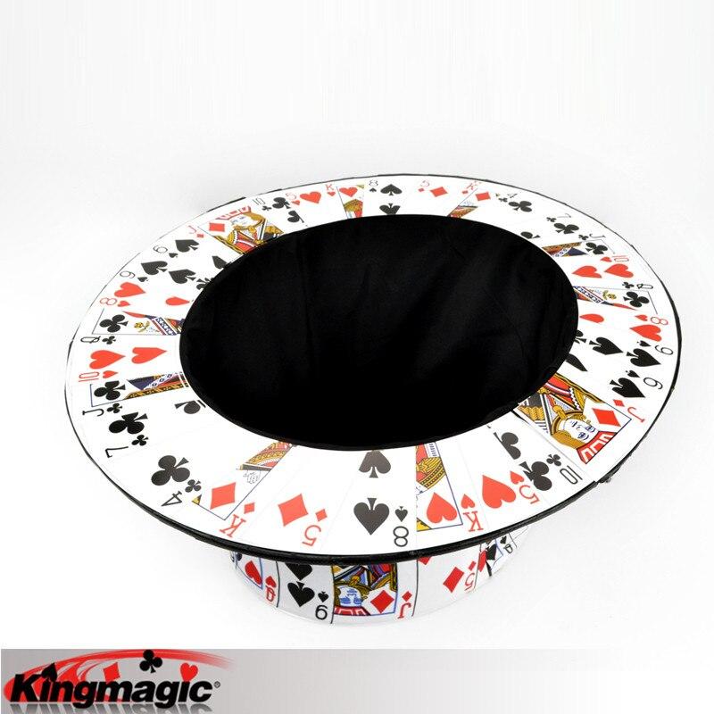 Carte à chapeau haut-de-forme scène tours de Magie jouets Magie Magia - 3