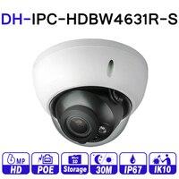 DH Security Camera IPC HDBW4431R S Upgrade Version IPC HDBW4631R S 6MP POE Security Camera with SD Card slot
