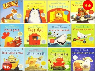 12 Books/set  Phonics Readers Picture Books Children Story Book Children Early Educaction English Reading Book For Baby
