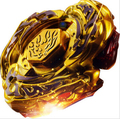 Many Style Mix 4D Style L-Drago Destructor (Destroy) Gold Armored Metal Fury 4D Beyblade - USA SELLER!