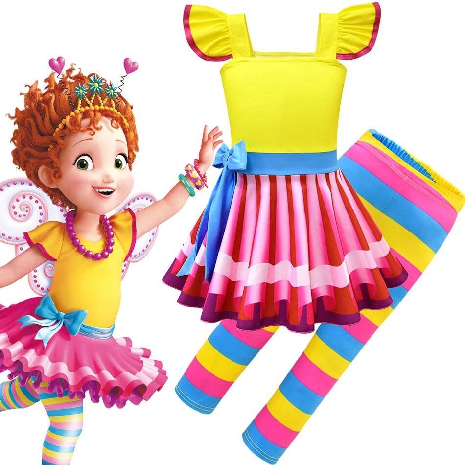 Нарядное платье Нэнси для девочек детские летние костюмы косплевечерние