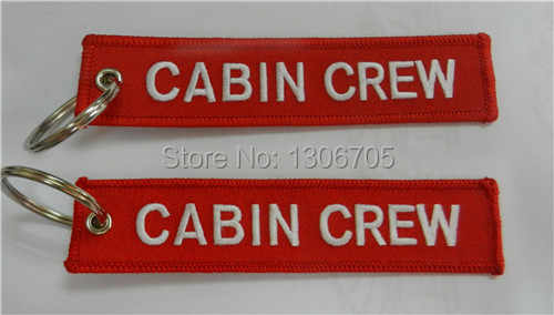 Cabinepersoneel Sleutelhanger Luchtvaart Motorfiets Pilot Crew Tag tas bagage cabine hostes copiloot sleutelhanger ring