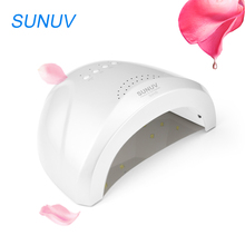 SUNUV SUNone LED Nail Dryer 24W 48W White UV Light Lamp Nail Manicure Machine 365 405nm