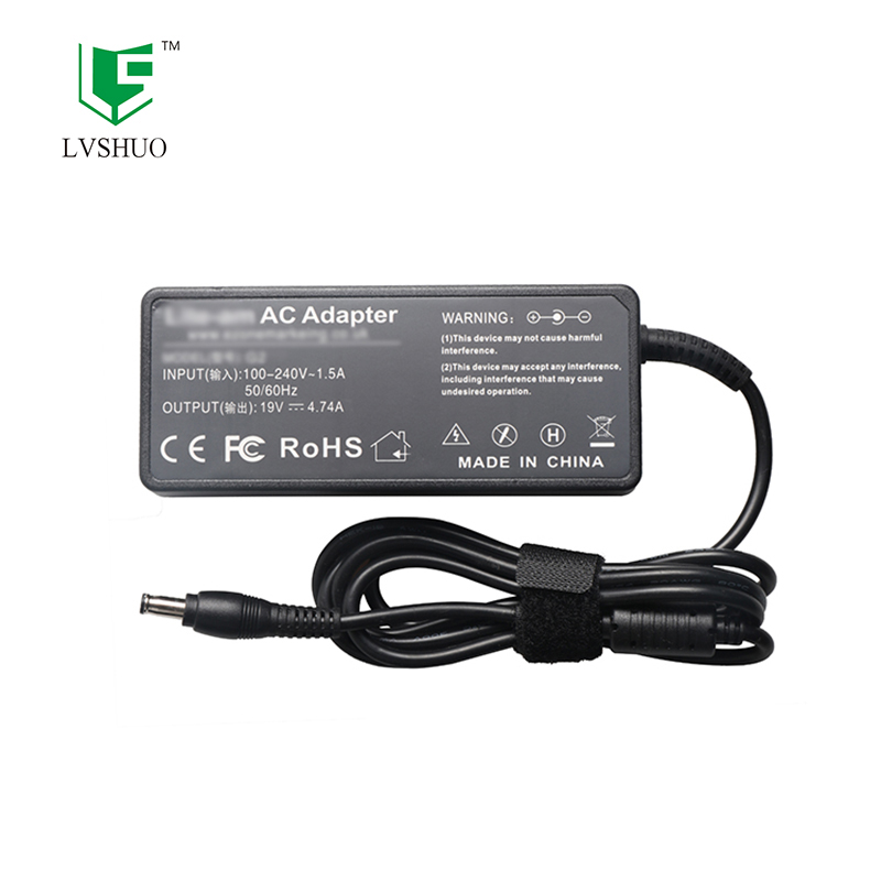 90W AC Adapter Laptop Charger For Samsung NP550P5C Np350v5c Np355v5c Np355e7c Np365e5c Np-R620E R780E 19V 4.74A Power Adapter image