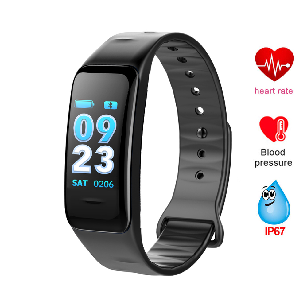 Smart Wristband Watch Fitness Bracelet Pedometer Smart Band Heart Rate Blood Pressure Bracelet Fitness Tracker Android iOS Phone