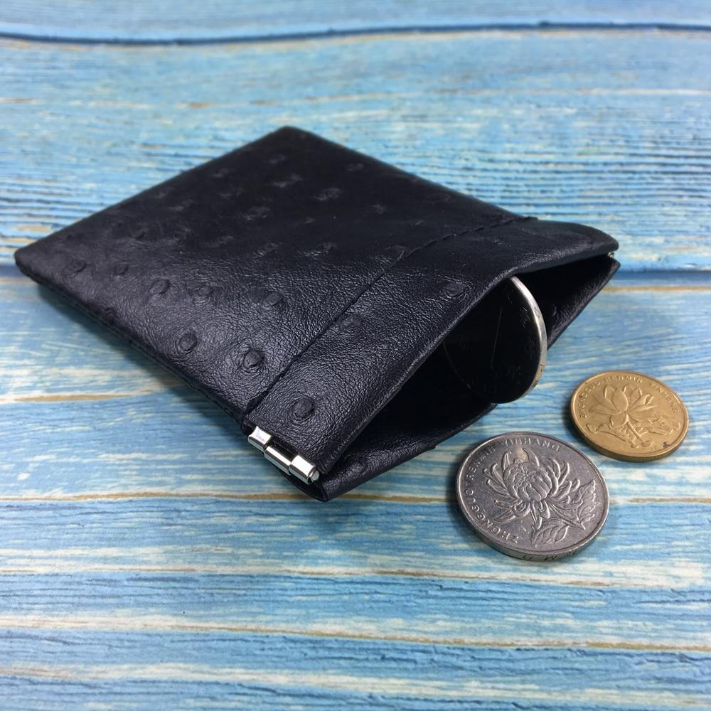 Pu Leather Coin Purse Women Men Mini Short Wallet Money Change Earphone Organizer Bag Portable Card Holder For Girl Cute Novelty