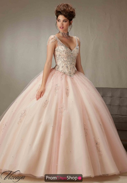 Vestidos De Quinceaneras Turquoise V Neck Quinceanera Dresses Sweet 16 Ball  Gown Open Back Tulle Cap Sleeve Dress Plus Size 640a7af76cee