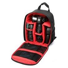 ใหม่แบบDSLRกระเป๋ากล้องกระเป๋าเป้สะพายหลังวิดีโอภาพกระเป๋าสำหรับกล้องd3200 d3100 d5200 d7100ขนาดเล็กกะทัดรัดกล้องกระเป๋าเป้สะพายหลัง