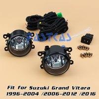 Car Fog Light for Suzuki Grand Vitara 1996 2004/2006 2012/2016 Left Right Bumper Fog Lamp with Switch Harness Cover Fog Lamp Kit